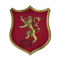 Placa Decorativa Lannister Escudo - Game Of Thrones - 30x25cm - Zona criativa