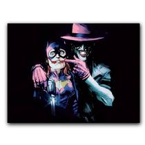 Placa Decorativa MDF Ambientes 20 cm x 30 cm - Batman Joker - The Killing Joke - Coringa A Piada Mortal (BD11) - Skin t18