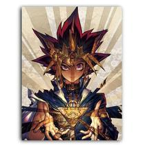 Placa Decorativa MDF Ambientes 30 cm x 20 cm - Yu-Gi-Oh Yugi yugioh Anime (BD70) - Bd net collections