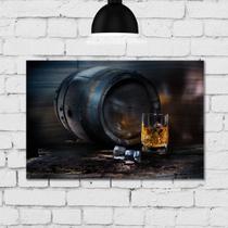 Placa Decorativa MDF Whisky - Quartinhos