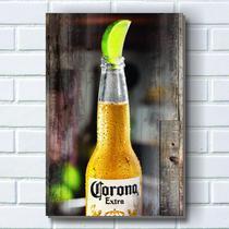 Placa decorativa p675 - cerveja corona - R+ adesivos