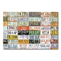 Placa Decorativa - Placas de Carros - 0297plmk