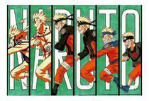 Placa Decorativa - Quadro - Naruto - Anime - Geek - (h263) - Coolforman