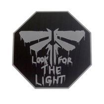 Placa decorativa The Last of Us - Alfa