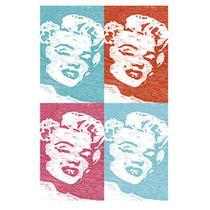 Placa Decorativo em MDF 22x33 Marilyn Monroe DHPM5-136 - Litoarte -
