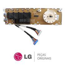 Placa Display / Interface 110V 6871EC2034C para Lava e Seca LG WD-14311RD -