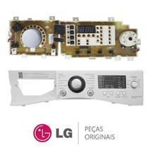 Placa Display / Interface 220V + Painel Frontal EBR67836628 Lava e Seca LG WD-1485ADA, WD-C1485ADA -