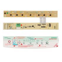 Placa E Adesivo COMPATIVEL Lavadora BWT24 BWQ24B  Bivolt - CP PLACAS