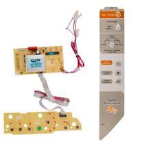Placa E Adesivo compatível Máquina De Lavar Roupas Brastemp 9kg BWF09A - CP Placas