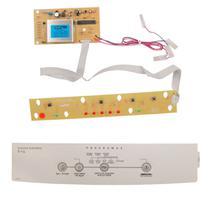 Placa E Adesivo compatível Máquina de lavar roupas Brastemp Bwc06a Bivolt - CP Placas