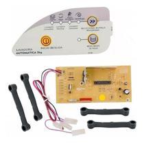Placa E Adesivo Lavadora Consul Automática 5kg Cwc22b Bivolt - Cp Placas E Brastemp