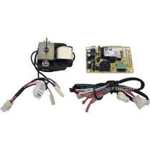 Placa eletronica modulo de potencia geladeira electrolux 110v + motor ventilador + sensor degelo -