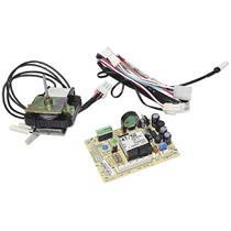Placa eletronica modulo de potencia geladeira electrolux 127v + motor ventilador + sensor degelo -