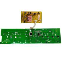Placa eletronica potencia e interface lavadora brastemp ativa 11 kg cp placas w10755942 110v 220v ve -