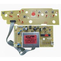 Placa eletronica potencia e interface lavadora brastemp compativel bwc10ab v3 bwc11ab 127v 220v cp p - CP PLACAS