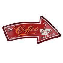 Placa Ferro Curved Coffee Shop - Urban