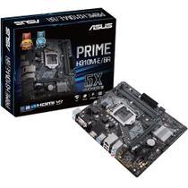 Placa-Mãe 1151 ASUS PRIME H310M-E/BR com Iluminação LED, DDR4 2666MHz, M.2 e USB 3.1 -