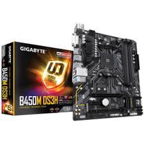 Placa Mãe (Amd) Gigabyte B450M DS3H DDR4 AM4 -