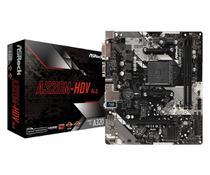 Placa-Mãe ASRock A320M-HDV R4.0 AMD AM4 mATX DDR4 -