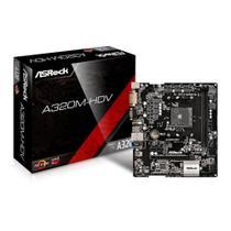 Placa Mae ASRock A320M-HDV R4.0 DDR4 Socket AM4 Chipset AMD A320 -