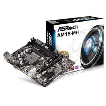 Placa Mãe AsRock AM1B-MH MATX AMD AM1 DDR3 1600Mhz USB 3.0 VGA HDMI