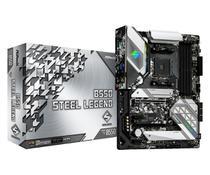 Placa-Mãe ASRock B550 Steel Legend AMD AM4 ATX DDR4 -