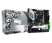 Placa-Mãe ASRock B550M Steel Legend AMD AM4 Micro ATX DDR4 -