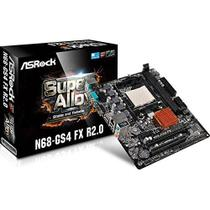 Placa Mãe ASROCK N68-GS4 FX R2.0 P/ AMD AM3+ DDR3 USB 2.0 SATA II