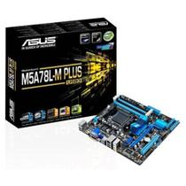 Placa Mae ASUS AMD 760G (780L)/SB710 MATX (AM3+) DDR4 - M5A78L-M PLUS/USB3-