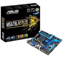 Placa Mãe Asus M5A78L-M PLUS/USB3 mATX AMD AM3 DDR3 HDMI DVI VGA USB 3.0 90MB0RB0-M0EAY0