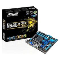 Placa-Mãe Asus p/ AMD AM3+ M5A78L-M PLUS/USB3 4xDDR3 mATX 90MB0RB0-M0EAY0