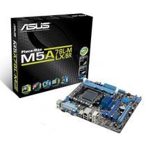 Placa-Mãe ASUS p/ AMD AM3+ mATX M5A78L-M LX/BR, 2xDDR3 VGA, PCIe x16, Porta Paralela e Serial, 6 SATA, Rede Gigabit, Core Unlocker -