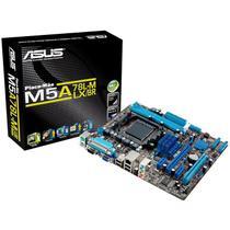 Placa Mãe ASUS p/ AMD AM3+ mATX M5A78L-M LX/BR, 2xDDR3 VGA, PCIe x16, Porta Paralela e Serial, 6 SATA, Rede Gigabit, Core Unlocker -