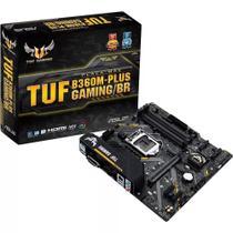 Placa-Mãe Asus p/ Intel 1151 TUF B360M-PLUS GAMING/BR 4xDDR4 mATX 90MB0Y40-C1BAY0 -