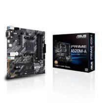 Placa Mae Asus PRIME A520M-A DDR4 Socket AM4 Chipset AMD A520 -