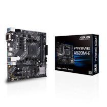 Placa-Mãe Asus Prime A520M-E AMD AM4 mATX DDR4 - Asus Br