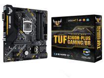 Placa Mãe Asus TUF B360M-Plus Gaming/BR Intel - LGA 1151 DDR4 Micro ATX
