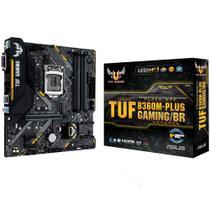 Placa mãe Asus TUF B360M-PLUS GAMING/BR LGA 1151 - Chipset Intel B360 - USB 3.1 Tipo C - Slot M.2 -