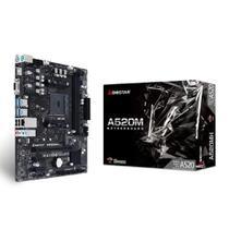 Placa Mae Biostar A520MH DDR4 Socket AM4 Chipset AMD A520 -