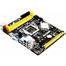 Placa Mãe - Biostar -  H81MHV3  p, PC socket 1150 DDR3 1600 -