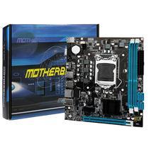 Placa Mãe Desktop LGA 1155 H61 DDR3 C/ Espelho - Tg