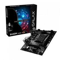 Placa Mãe Galax B450M AMD Socket AM4 M-ATX - AB450MAGCHJ1CW -