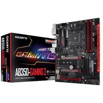 Placa-Mãe GIGABYTE AMD mATX GA-AB350M-GAMING 3 DDR4 (AM4/ USB 3.1)