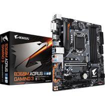 Placa-Mãe Gigabyte B360M AORUS GAMING 3, LGA 1151, DDR4, 8ª Geração -