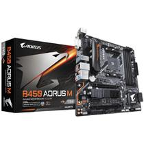 Placa Mãe Gigabyte B450 AORUS M mATX AMD DDR4 -