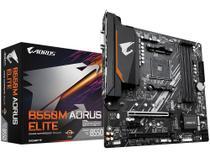 Placa Mãe Gigabyte B550M Aorus Elite AMD - AM4 DDR4 ATX