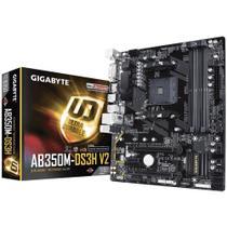 Placa-Mãe Gigabyte GA-AB350M-DS3H V2, AMD AM4, mATX, DDR4 -