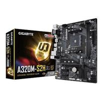 PLACA-MAE Gigabyte P/ AMD AM4 MATX GA-A320M-S2H. 2XDDR4 32GB. HDMI. DVI. M.2. Pcie. USB 3.1 GER 1. Suporta RYZEN 2000 -