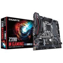 Placa-Mãe Gigabyte p/ Intel 1151 Z390M Gaming 4xDDR4 mATX -