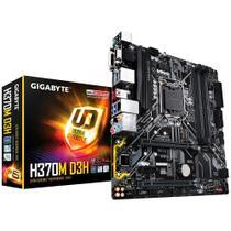 Placa-Mãe GIGABYTE p/ Intel mATX H370M D3H DDR4 8ª Geração LGA 1151 -